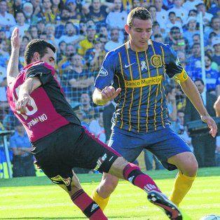 Emblema. Desde su retorno a Arroyito, Marco Ruben supo marcar la diferencia con goles.