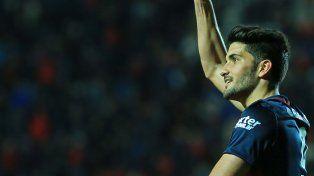 Carta de gol. Nicolás Blandi.