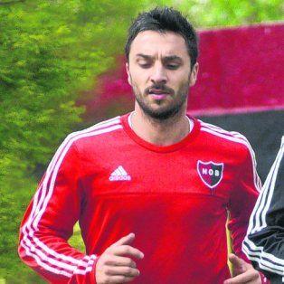 Ignacio Scocco. Nacho sumará hoy minutos de fútbol.