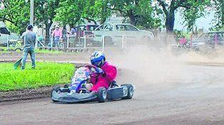 La previa. El pasado domingo hubo pruebas en el circuito El Lago.