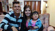 Diego DellOrto y su familia que ahora será Ayala.