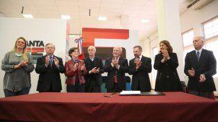 Aranguren destacó la oportunidad de trabajar en conjunto con la Municipalidad y la provincia de Santa Fe.
