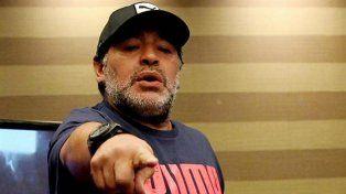 Maradona dijo que ni entregando parte de su cuerpo a Claudia Villafañe le pagarían 2,50 pesos