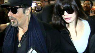 Al Pacinoy su novia argentina Lucila Polakya están en Buenos Aires