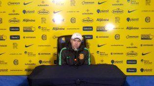 Coudet reconoció que el partido con Boca es el más importante para Central