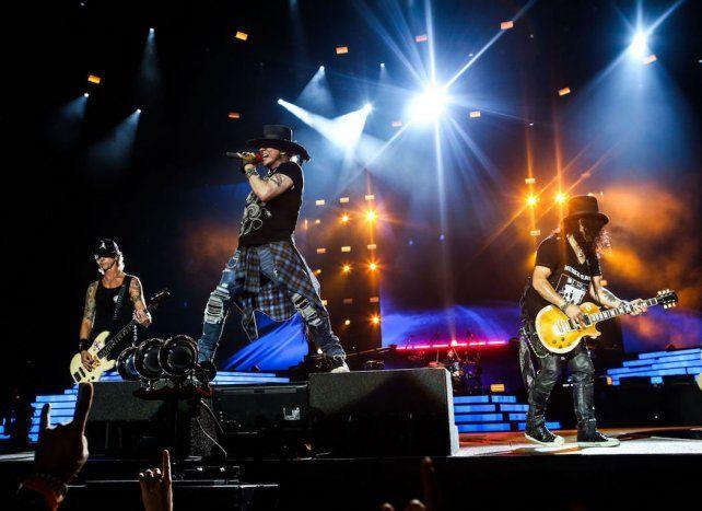 Guns N Roses se presentará el próximo 1º de noviembre en Rosario.