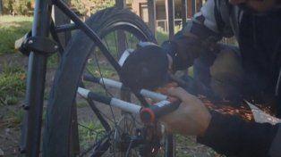 El peligroso y polémico invento que promete terminar con el robo de bicicletas