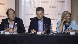 Mesa nacional. Los fundadores de Cambiemos llamaron a ampliar las bases de la coalición de gobierno.