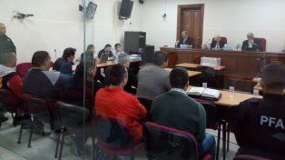 Tribunal. Las penas las dictaron los jueces Beatriz Caballero de Barabani