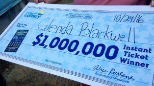 La ganadora tuvo que pagar más d ela mitad del premio en impuestos.