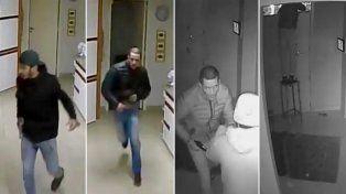 Un video muestra como escapan los asesinos del gerente de la editorial Sigmar