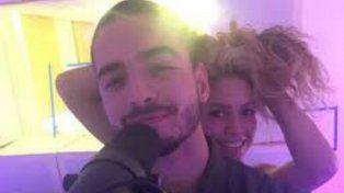 Shakira y Maluma grabaron juntos Chantaje y lo lanzaron hoy en las redes sociales.