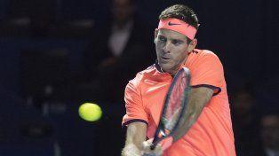 Juan Martín del Potro perdió con el japonés Kei Nishikori y le dijo adiós al ATP 500 de Basilea.