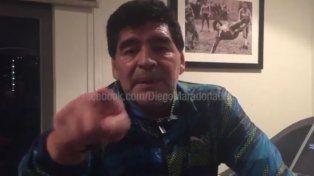 Diego fue sumamente criticó con la conducción actual de la AFA.