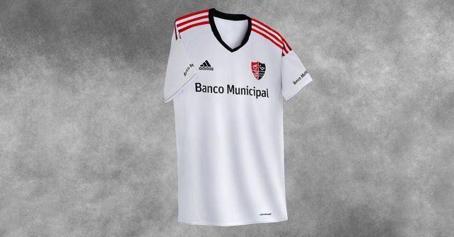 La nueva camiseta alternativa leprosa se estrenará frente a San Lorenzo.