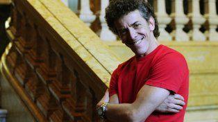 Sonrisas. Guerra dijo que está feliz con su trabajo en el teatro Colón.