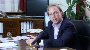 El ministro de Economía provincial