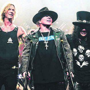 El famoso grupo tocará en el estadio de Central con Axl Rose, Slash y Duff McKagan en sus filas.