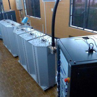 Más potencia. Los nuevos equipos en la planta transmisora.