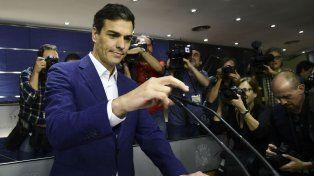 No es no. Pedro Sánchez da un paso al costado para evitar la votación.