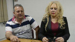 Angustiado. Marcelo es el papá de Nico C. y estuvo en el diario junto a la abogada Susana Zulkarneinuff.