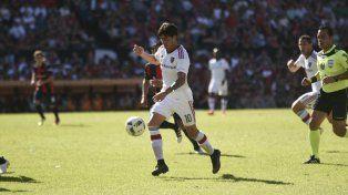 El Gato Formica abrió la cuenta para el rojinegro y es uno de los goleadores del equipo