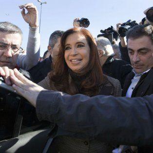 Otra vez. La ex presidenta Cristina Kirchner ya pasó en dos oportunidades por los Tribunales Federales del barrio porteño de Retiro.
