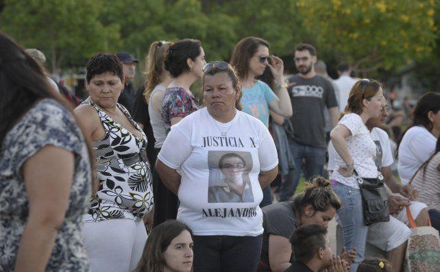 Actividad. Familiares recordaron a Alejandro a un año de su muerte.