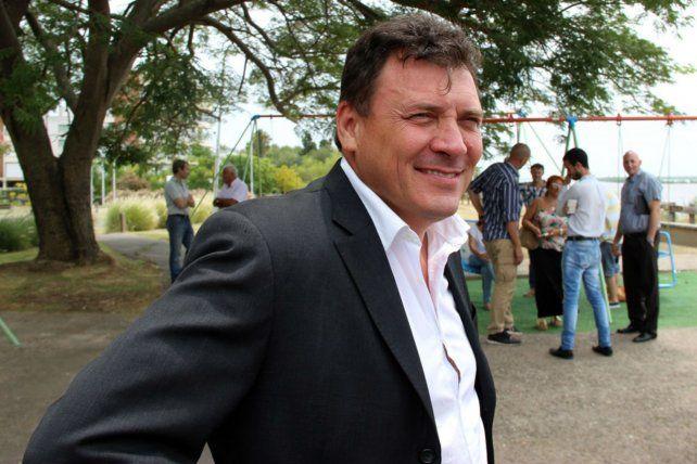 El intendente Leonardo Raimundo.