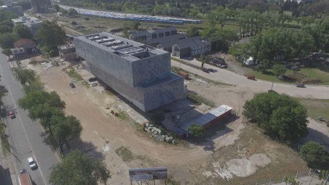 La máquina fue llevada a la Universidad de San Martín