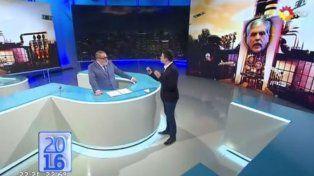 Lanata presentó anoche el informe en Periodismo para todos.