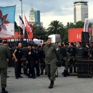 vallado y gendarmes en comodoro py para la indagatoria a cristina