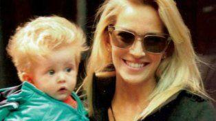 Luisana y su hijo Noah.