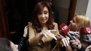 Cristina declaró ante el juez Julián Ercolini