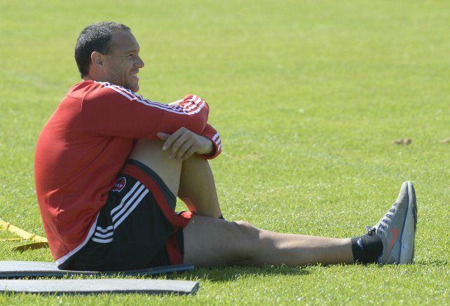 El delantero de Newells Mauro Matos se resintió de la tendinitis en el tendón de Aquiles derecho.