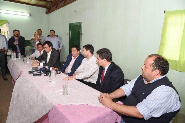 El gabinete social de la Nación desembarcó en el barrio Tío Rolo para escuchar a la gente