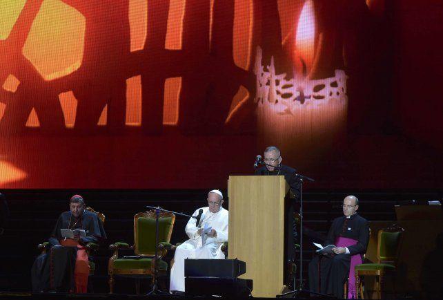 Un día histórico. El Papa y los referentes luteranos se reunieron en Lund