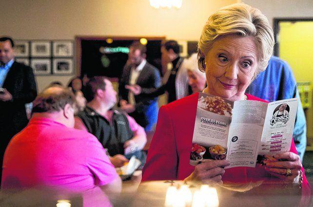 Mal día. Hillary