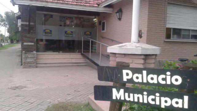 El incidente ocurrió en el corralón de la Municipalidad.