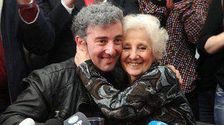 Guido y Estela finalmente pudieron abrazarse tras 36 años de búsqueda.