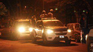 Vigilados. Fuerzas federales y provinciales recorren zonas críticas.