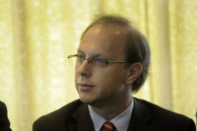 Fondos. El ministro Saglione confirmó que ya están disponibles los recursos de los títulos por u$s 250 millones.