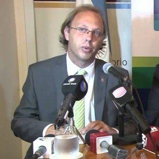 El ministro de Economía provincial, Gonzalo Saglione.