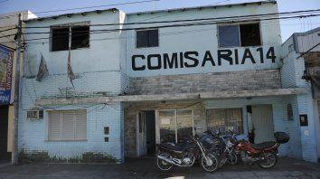 La comisaría 14ª, ubicada en barrio Belgrano.