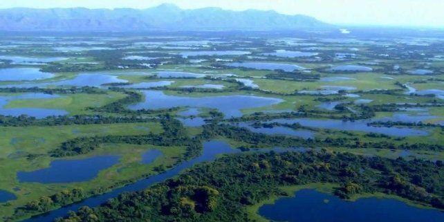 Inmensidad. Pantanal está rodeada por las Sierras dos Paracis