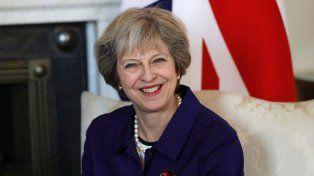 Revés. La premier Theresa May.