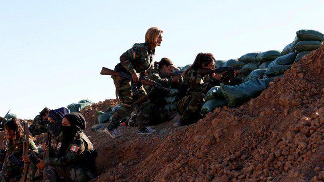 La feroz lucha de las mujeres kurdas contra el ISIS