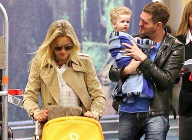 Michael Bublé: Estamos  devastados por el diagnóstico de cáncer de nuestro hijo Noah