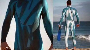 Intentará cruzar el océano Atlántico a nado con un traje invisible para los tiburones