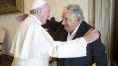 Simpatía. Francisco y Mujica, en la reunión que mantuvieron en mayo de 2015.